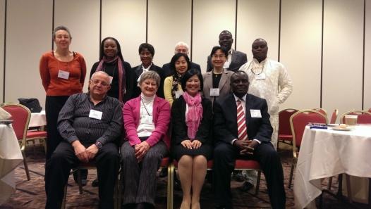 Members attend International committee meeting